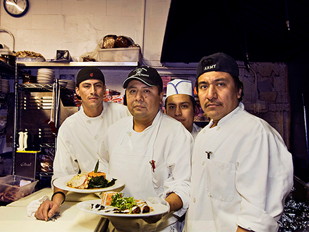 Chefs, © Pamela Greene