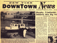 Downtown News, November 16, 1974 With Rubin's Photo of the Scene