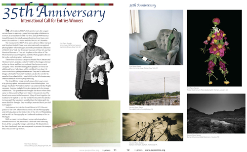 Some Open Call Winners Featured in Fall 2010 Imprints Magazine