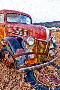 Van Gogh's Truck © Gail Dohrmann