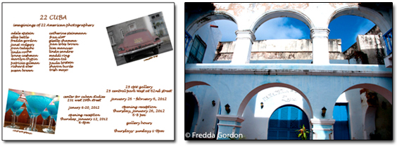Invitation Images © Patricia Gilman & Maddi Ring, Right Image ©Fredda Gordon