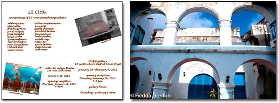 Invitation Images © Patricia Gilman & Maddi Ring, Right Image ©Fredda Gordon