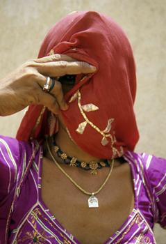 Vishnu Woman, Jodhpur India ©Dannielle Hayes