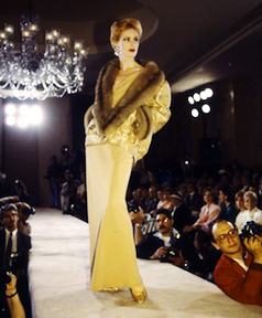 Bill Blass Yellow Dress ©Darleen Rubin