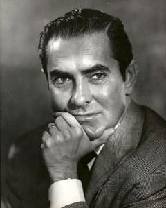Tyrone Power ©Editta Sherman