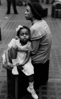 Mother and Daughter Ruth Orkin