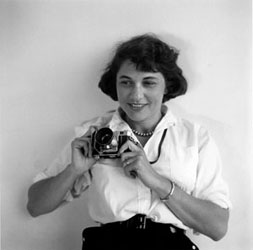 Ruth Orkin With Camera