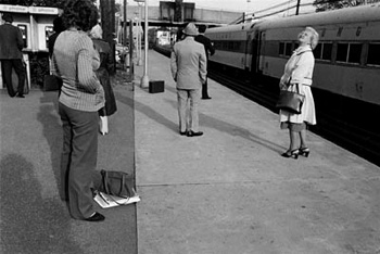 Waiting for train ©Susan May Tell