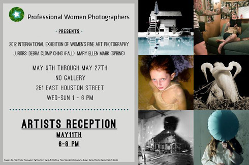International Exhibition of Women's Fine Art Photography at .No Gallery