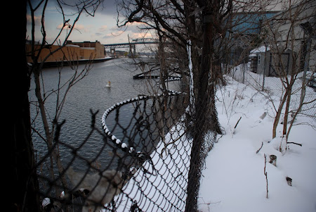 Newtown Creek Winter ©Nathan Kensinger