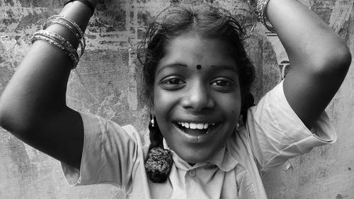 Village Girl - Madurai, India 2012 (100cameras.org/Russ Foundation) Sponsored by Leica Cameras
