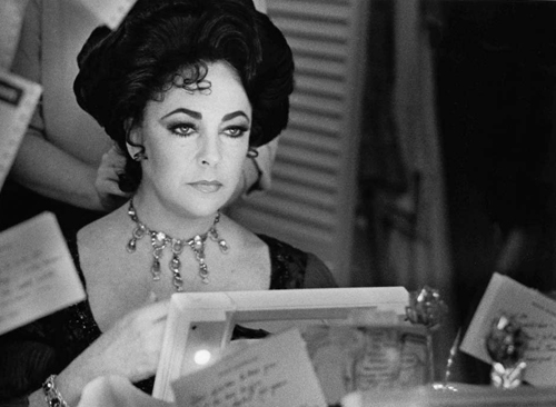 Elizabeth Taylor - The Little Foxes, 1981 ©Rivka Katvan