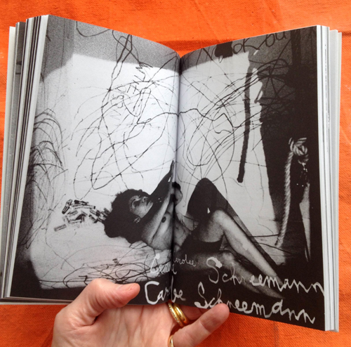 Girls Against God issue 2, image by Carolee Schneemann
