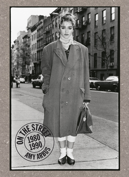 "Madonna ©Amy Arbus (Cover of Arbus'  book ""On The Streets"")"