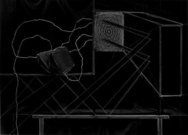 Crushed Can & Scratchboard, 1992 ©Zeke Berman