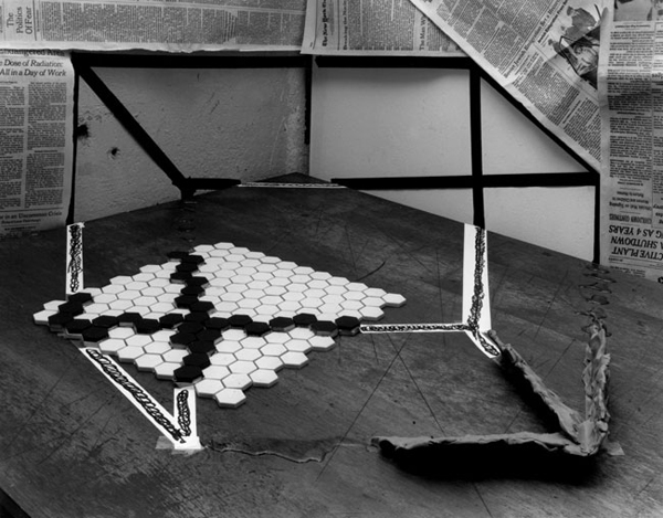 Still Life With Necker Cube, 1979 ©Zeke Berman