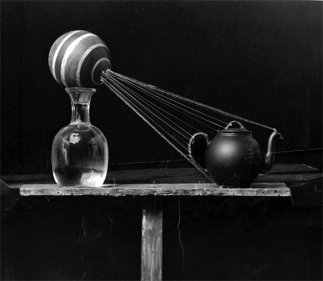 Teapot and Ball, 1986 ©Zeke Berman
