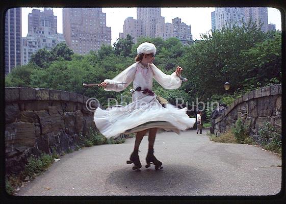 Rollerena in Central Park ©Darleen Rubin