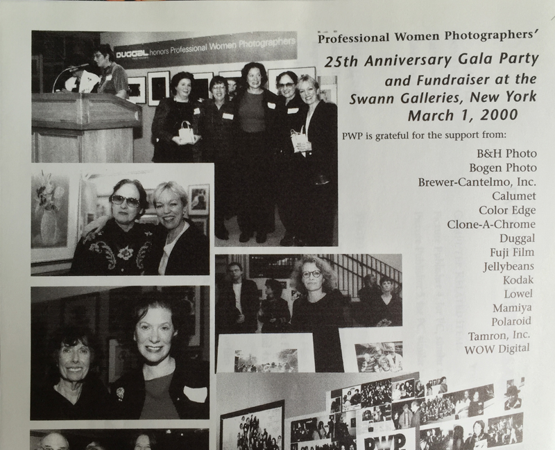 PWP 25th Anniversary party and fundraiser at the Swann Galleries in 2000