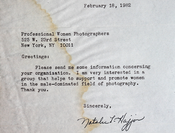 1982 letter to PWP