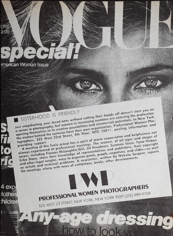 Ad for PWP in Vogue Magazine