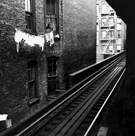 Laundry and Tracks ©Sid Kaplan