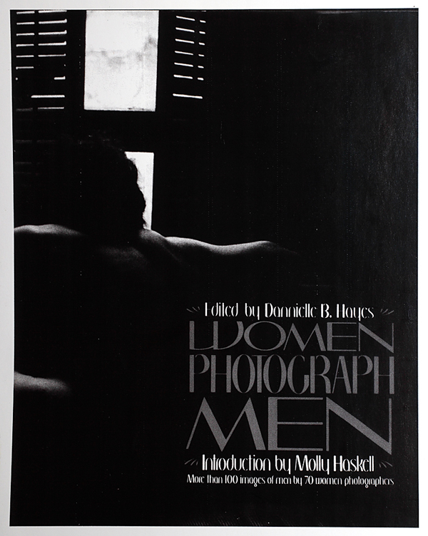 "Cover of ""Women Photograph Men"" (PWP Archives, Emory University)"