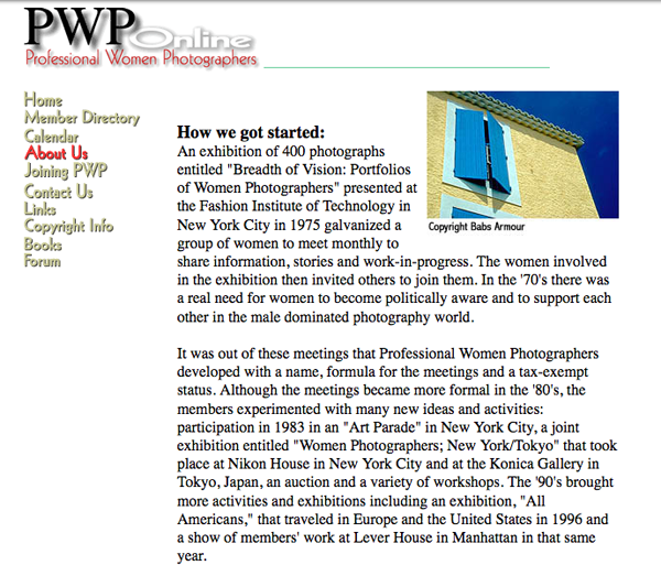 pwponline.org 10/13/2000, courtesy of waybackmachine.org