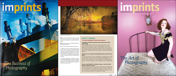 Issues of PWP's IMPRINTS Magazine