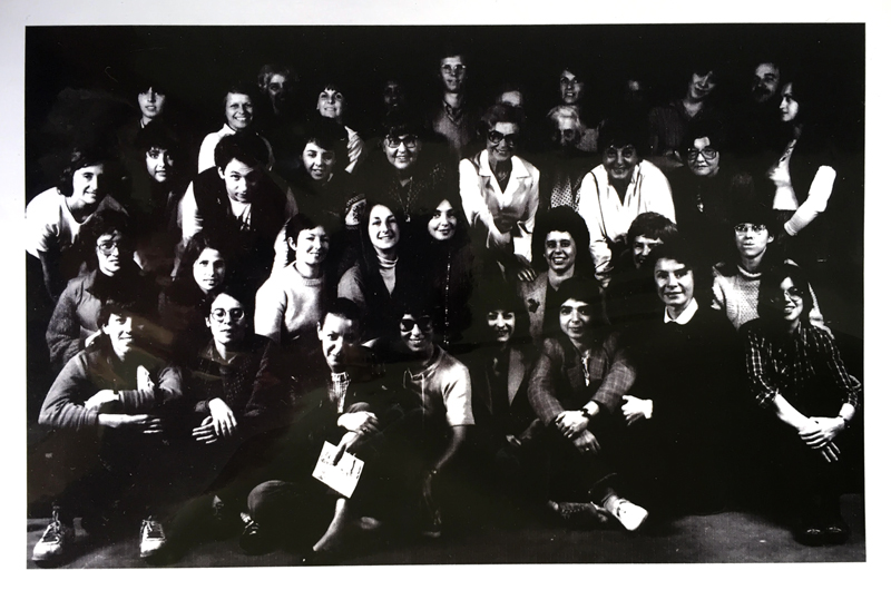 PWP group portrait from the late 1970s or early 1980s