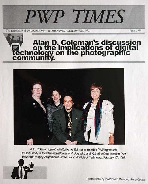 In 1998 Alan D. Coleman spoke about digital technology