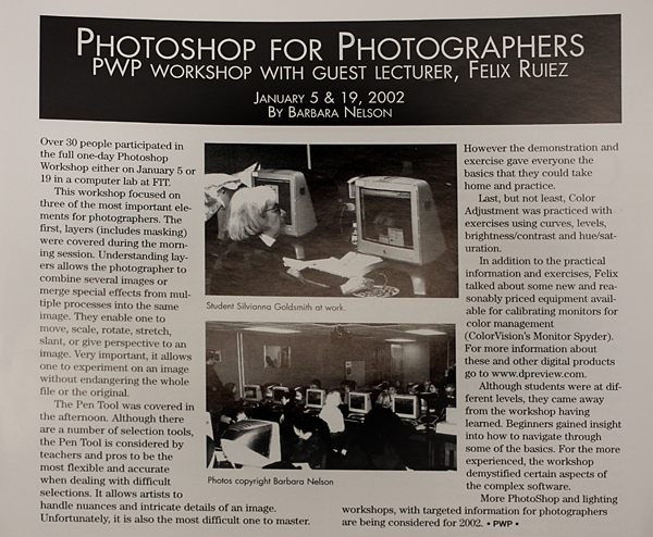 2002 PWP computer workshop at FIT