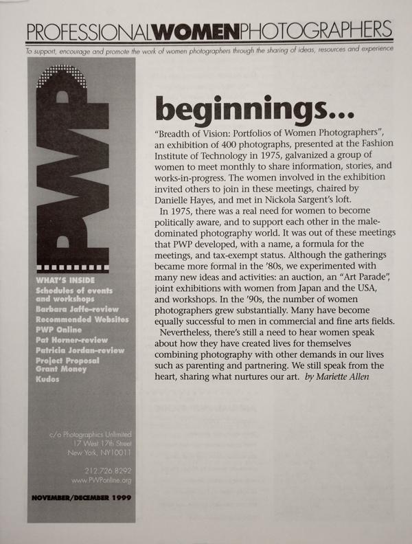PWP_BW_Magazine_1999_Cov