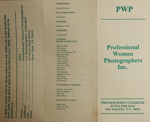 PWP brochure from the early 1980s