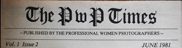 "Masthead for a 1981 issue of ""The PWP Times"""