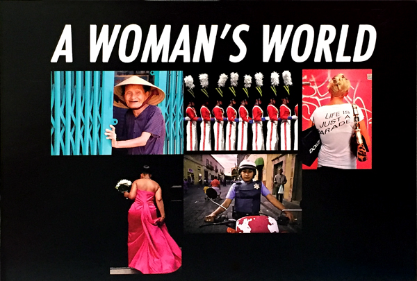 "Invitation PWP's ""A Woman's World"" exhibition"