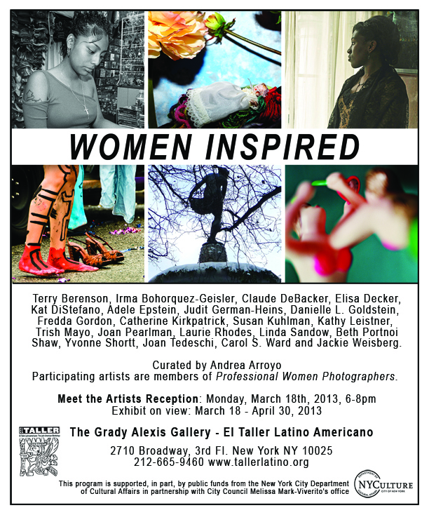 "PWP's ""Women Inspired"" exhibition at the Grady Alexis Gallery"