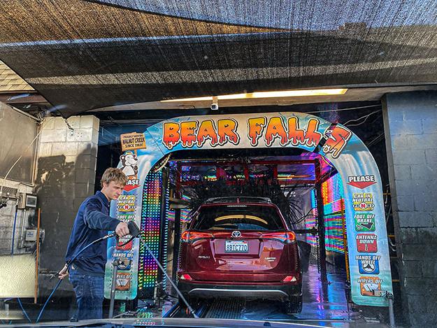 Bear Falls Car Wash by Rain Bengis